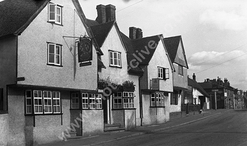 George And Dragon, Codicote in the 1950s.