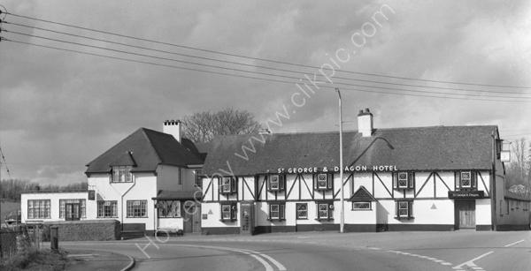 St. George And Dragon Hotel, Clyst St. George, Devon EX3 0QJ around 1974
