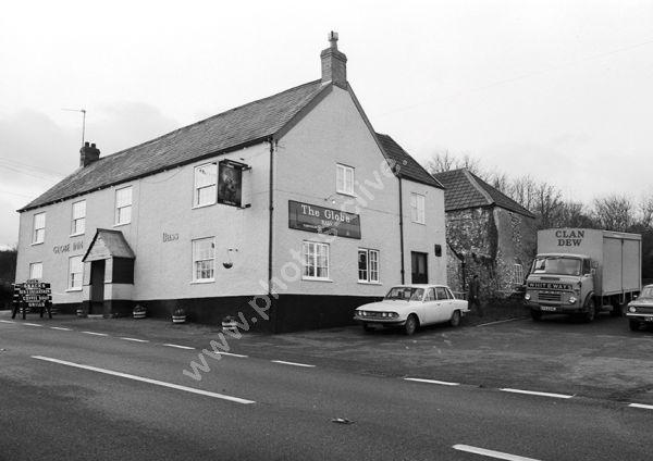 Flintlock Inn(previously the Globe Inn as here in 1975) Marsh, Honiton EX14 9AJ