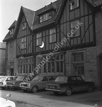 The Half Moon Hotel, Half Moon Street, Sherborne, Dorset DT9 3LN around 1973-4