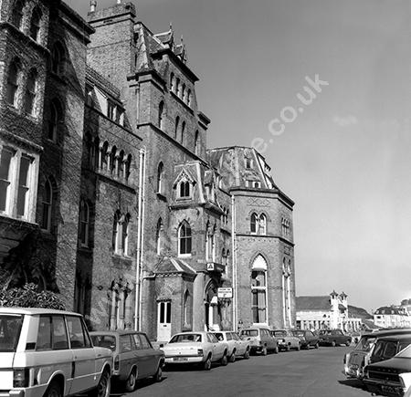 Holiday Inn (Demol 1976) Ilfracombe, Devon shot 3 with cars