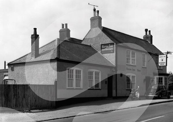 Horns Inn, Romsey Road, Nursling SO16 0XA around 1974