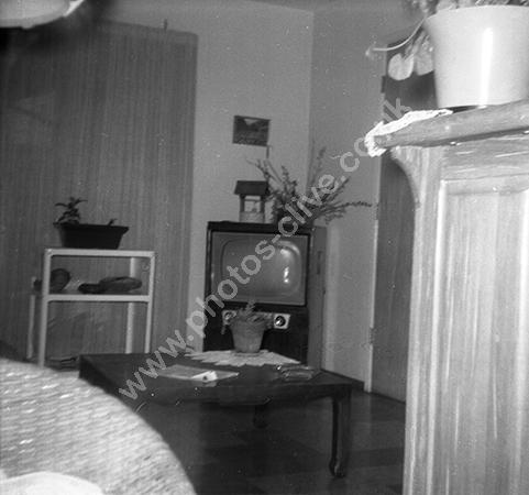 Hotel room in 1950s