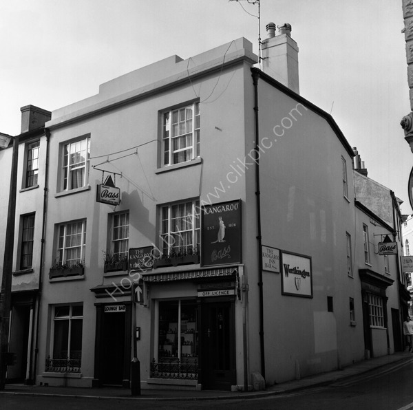 Kangaroo Inn, 2 Fore Street, Teignmouth TQ14 8EA around 1974