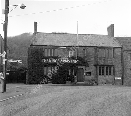 Kings Arms, Montacute, Somerset TA15 6UU 1973-74