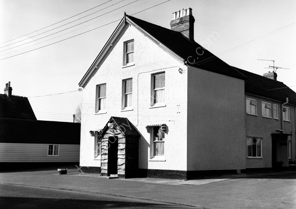 Lord Nelson, Station Road, Ilminster Somerset TA19 9BL around 1974