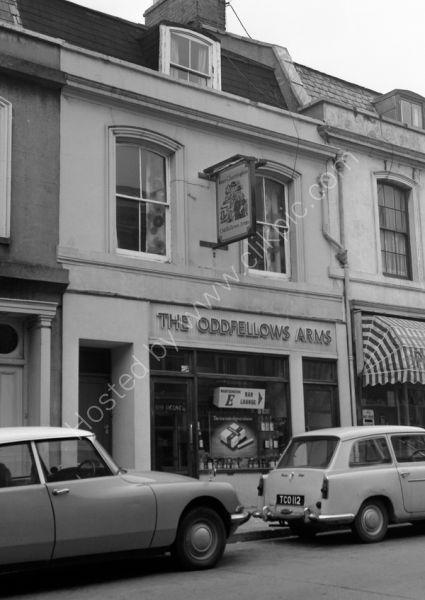 Oddfellows Arms, Devenport Road Plymouth PL3 4DF around 1974/5