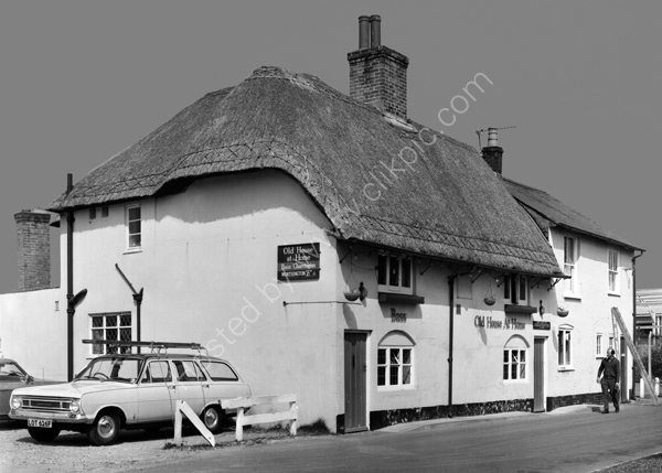 Old House At Home, Love Lane, Romsey SO51 8DE around 1974