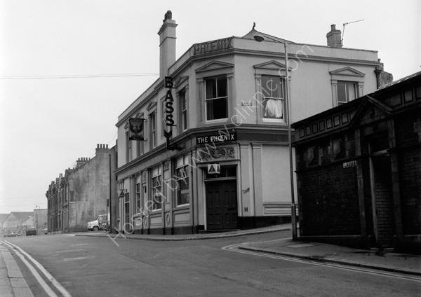 Phoenix Tavern 11 Phoenix Street, Stonehouse, Plymouth PL1 3NW around 1974
