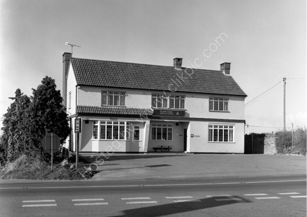 Poulett Arms, Lopen Head, South Petherton TA13 5JH around 1974
