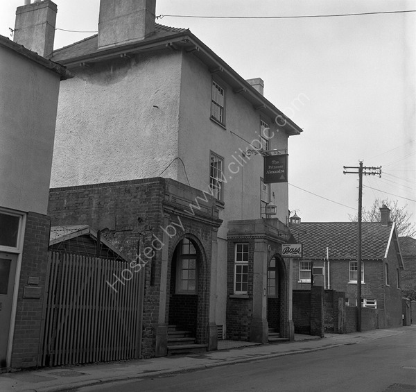 Lazy Landlord (formerly the Princess Aleaxandra as here in 1974) Bonhay Road, Exeter.