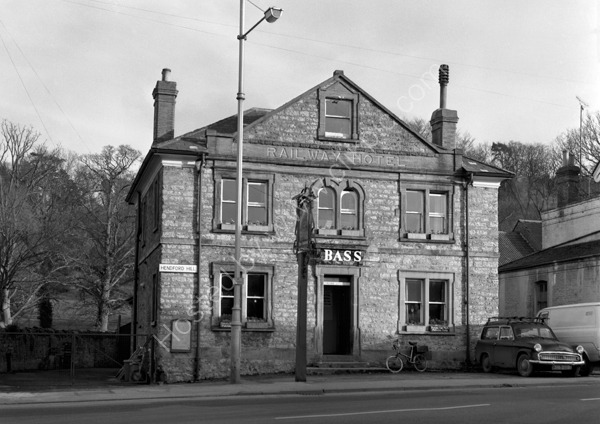 Railway Hotel, Hendford Hill, Yeovil  BA20 2QN around 1974