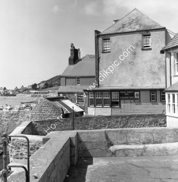 Rock Point Inn rear, Lyme Regis, Dorset in DT7 3QD in 1974