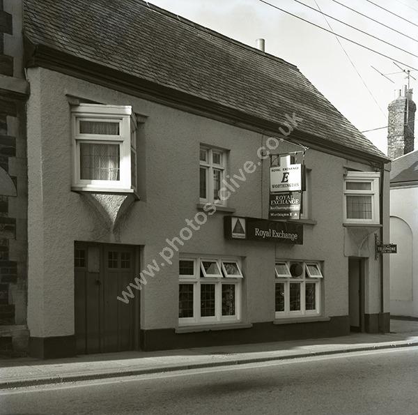 Royal Exchange, New Street, Torrington EX38 8BT version 1 pre 1975