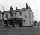 Royal Mail pub, Taunton in 1974 (The Ale House in 2019)