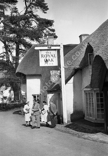 Royal Oak, Winsford, Near Minehead, Somerset TA24 7JE in the 1920s