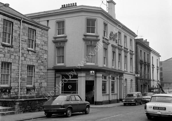 Shakespeare Hotel, Theatre Ope, Devonport PL1 4HT around 1974