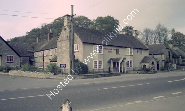 Sparkford Inn, Yeovil BA22 7JH in 1975