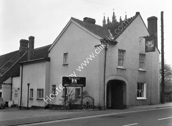 Swan Inn, North Petherton TA6 6QA in 1973.