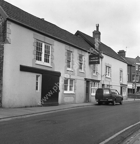 London Inn, Holyrood Street, Chard, Somerset around 1973-74