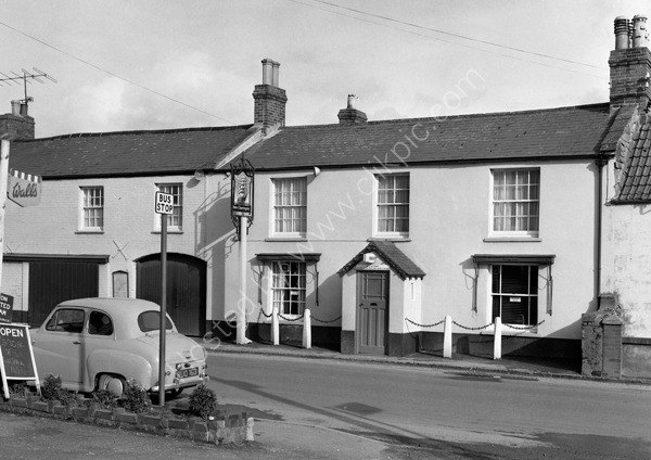 Ship Inn Chard at around 1974
