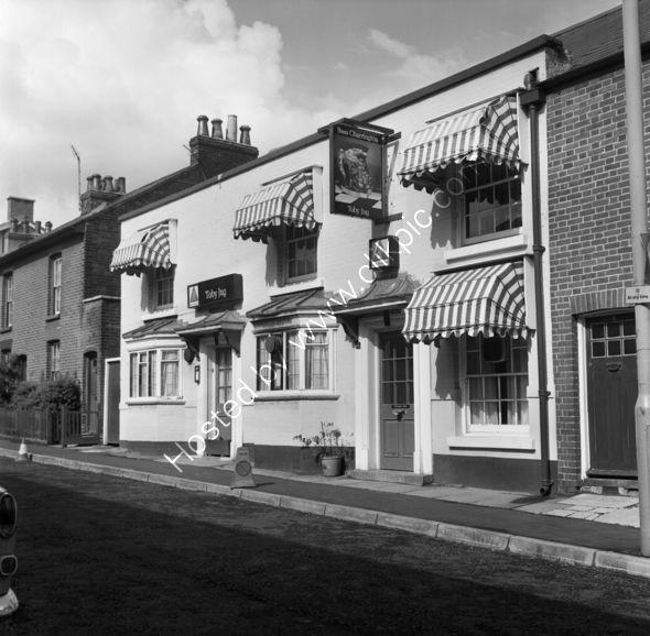 Toby Jug pub, (demolished) Fareham, Hants in 1973