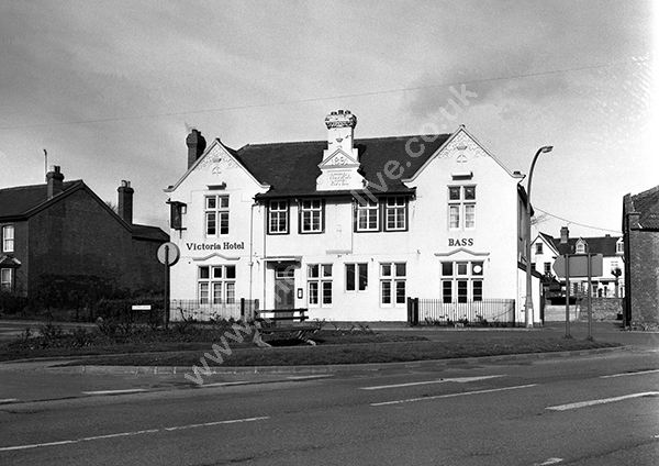 Victoria Hotel, Chard (now demolished) TA20 1HE around 1973