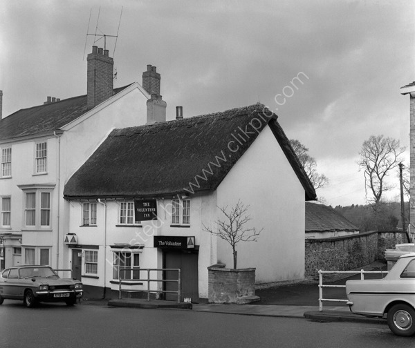 Volunteer Inn, 177 High Street, Honiton, Devon EX14 1LQ in around 1974