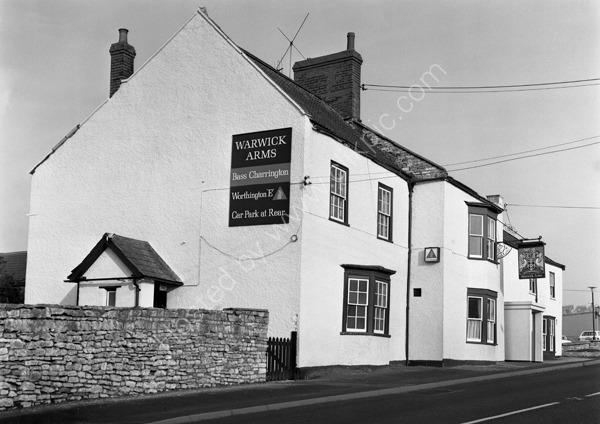 Warwick Arms, Clutton , Bristol around 1974