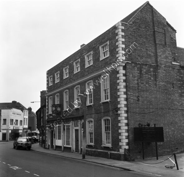 Bridgwater Inn, Bridgwater in 1973 when it was Waterloo House TA6 3EQ
