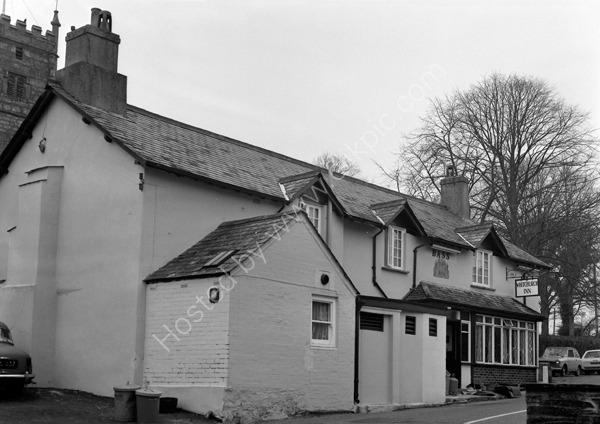 Whitchurch Inn, Church Hill, Tavistock PL19 9ED around 1974