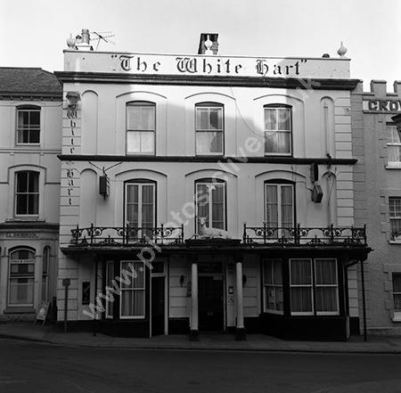 The White Hart, Fore Street, Holsworthy, Devon EX22 6EB  around 1973-74