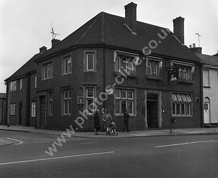 White Hart, East Reach, Taunton in around 1973-74