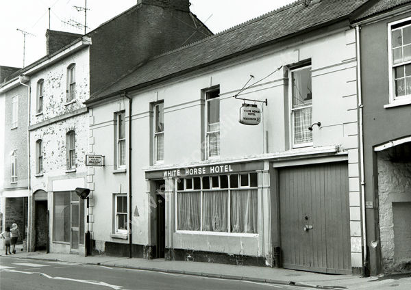 Old Smithy (formerly the White Horse as here in 1974)
