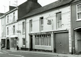 White Horse hotel, Ivybridge around 1974 (in 2019 The Old Smithy and run by St. Austell Ales)