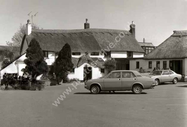 Williams Arms, Wrafton, Braunton around 1974