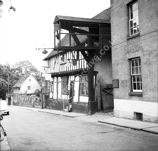 Olde Bell and Steelyard, Woodbridge, Suffolk in 1950s