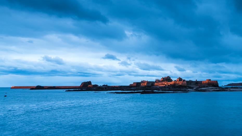 Elizabeth Castle, Winter's Morning