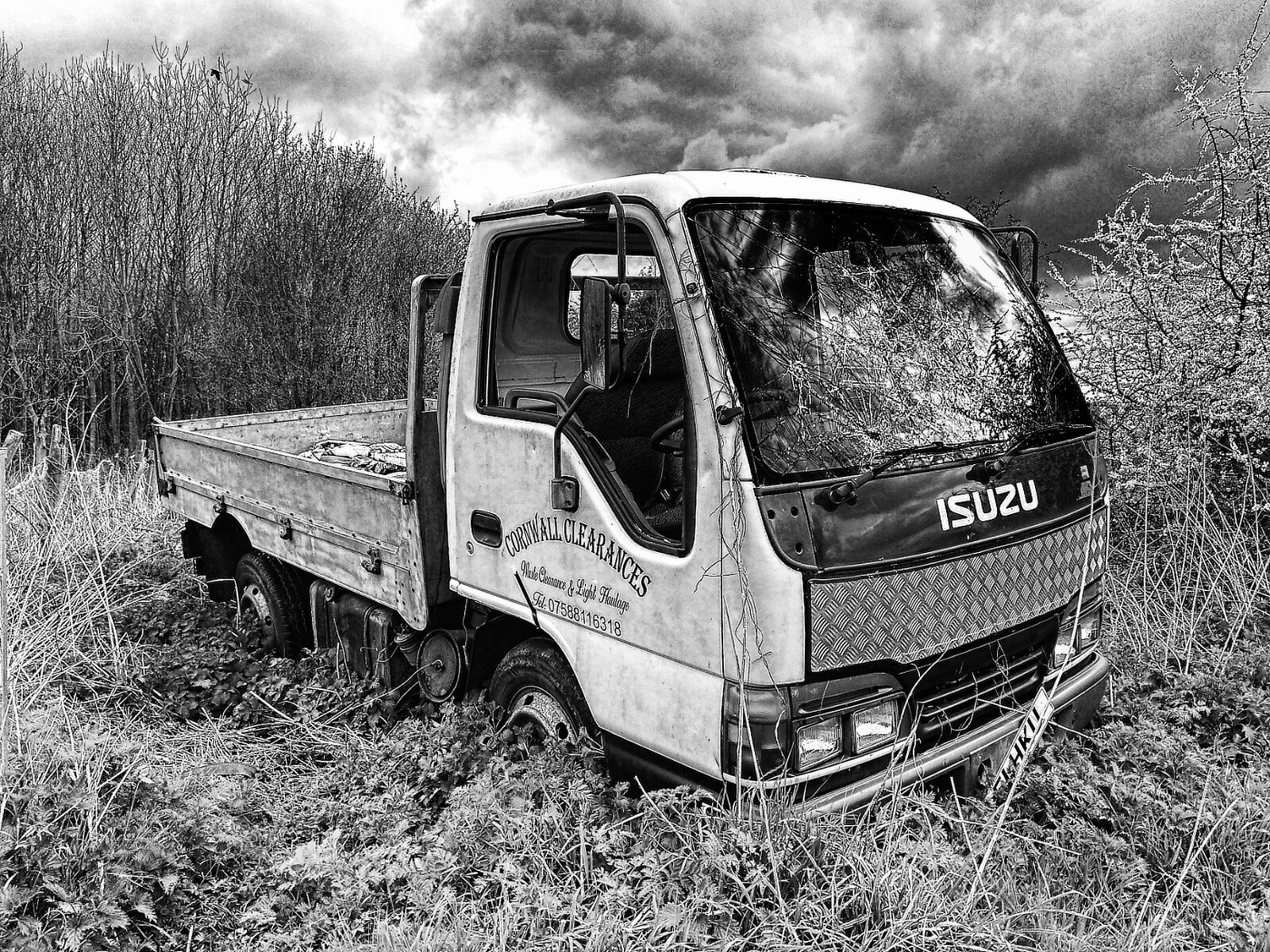 Commended Monochrome: Left to Rust By James Mann