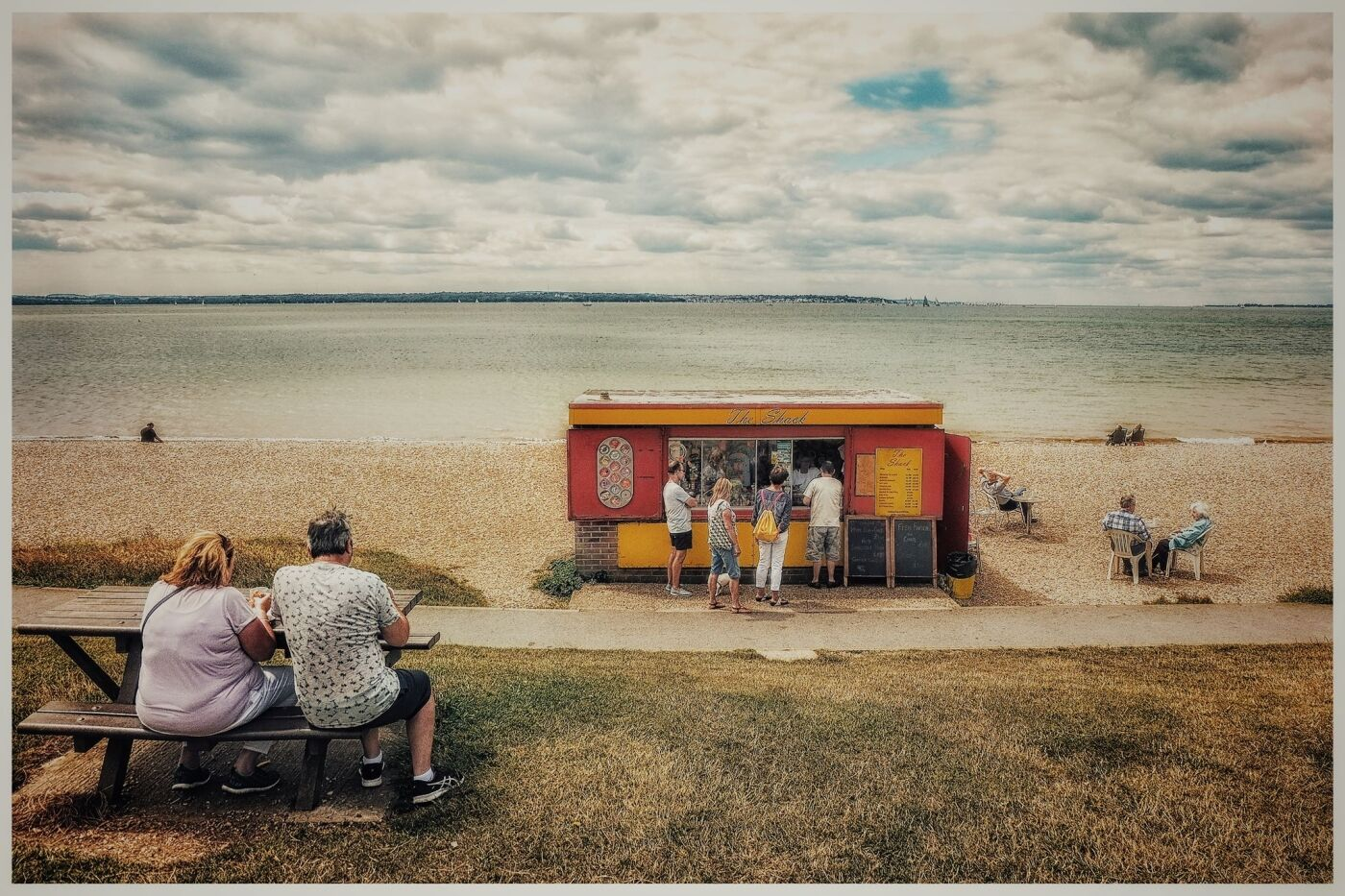 Highly commended  Socially distanced day out by Rakesh Nar