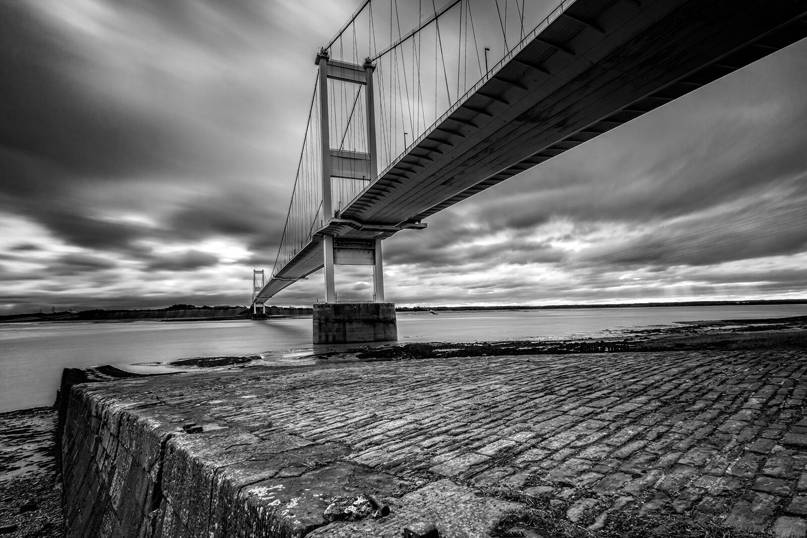 Highly Commended: Severn-Bridge-with-Old-Slipway