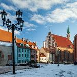Winter Morning in Riga