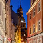 Evening in Riga
