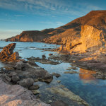 Morning at Playa del Arco in Cabo de Gata Natural Park