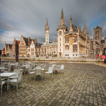 Spring afternoon in Ghent Old Town