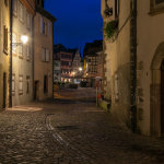 Before dawn in Colmar