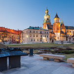 Dusk at Wawel