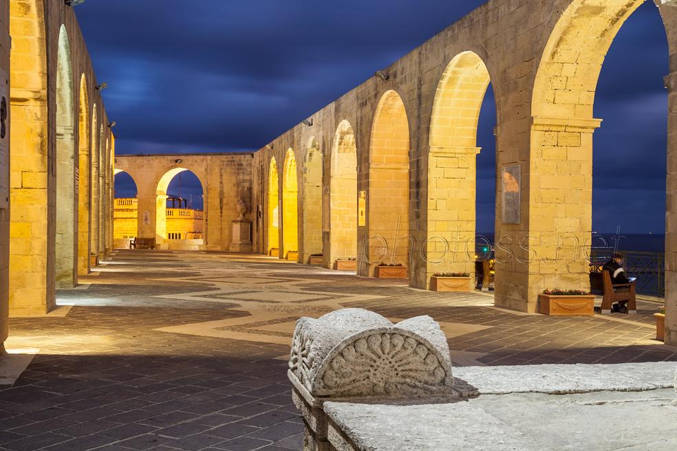 Evening in Valletta