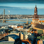 Panorama of Riga