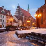 Dusk in Riga